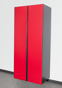 Race Day Red / Slate Cabinet Option