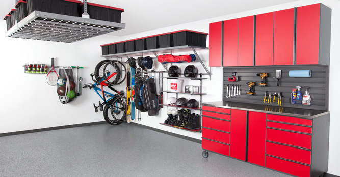 Custom Garage Storage in Baton Rouge